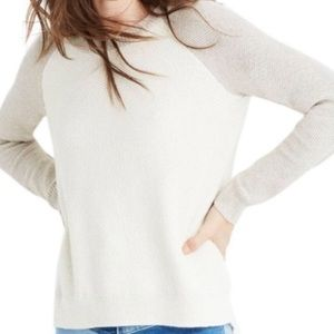 Madewell Province Criss-Cross Back Sweater XS